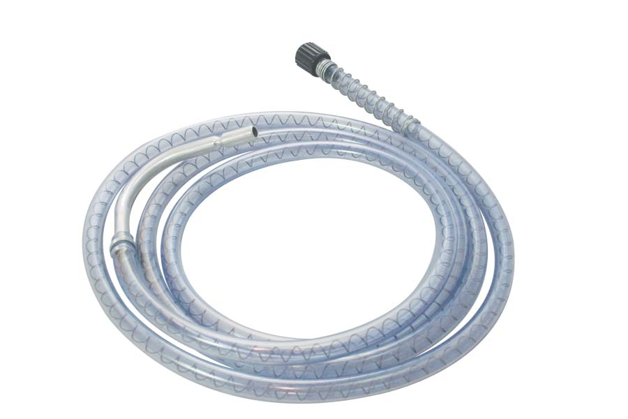 Discharge Hose - 5' Hose - Anti-drip hook outlet -