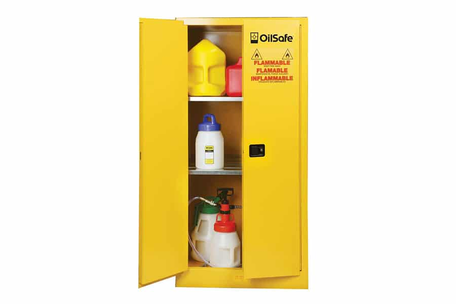 Fluid Safety Cabinet - Self Closing - 60 gallon -